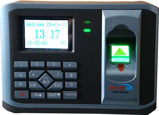 Máy chấm công kiểm soát ra vào RONALD JACK WSE-8000A